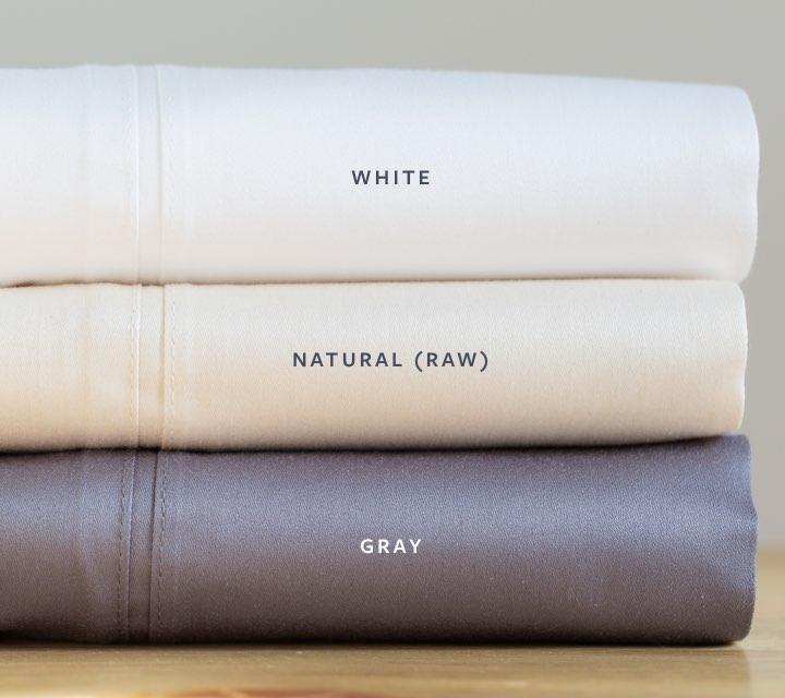 natural organic 1000TC sheets