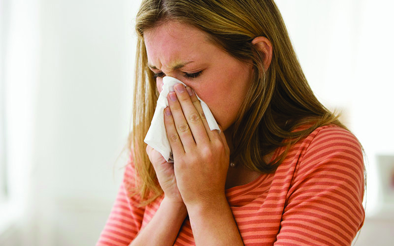 stay away from allergy causing items
