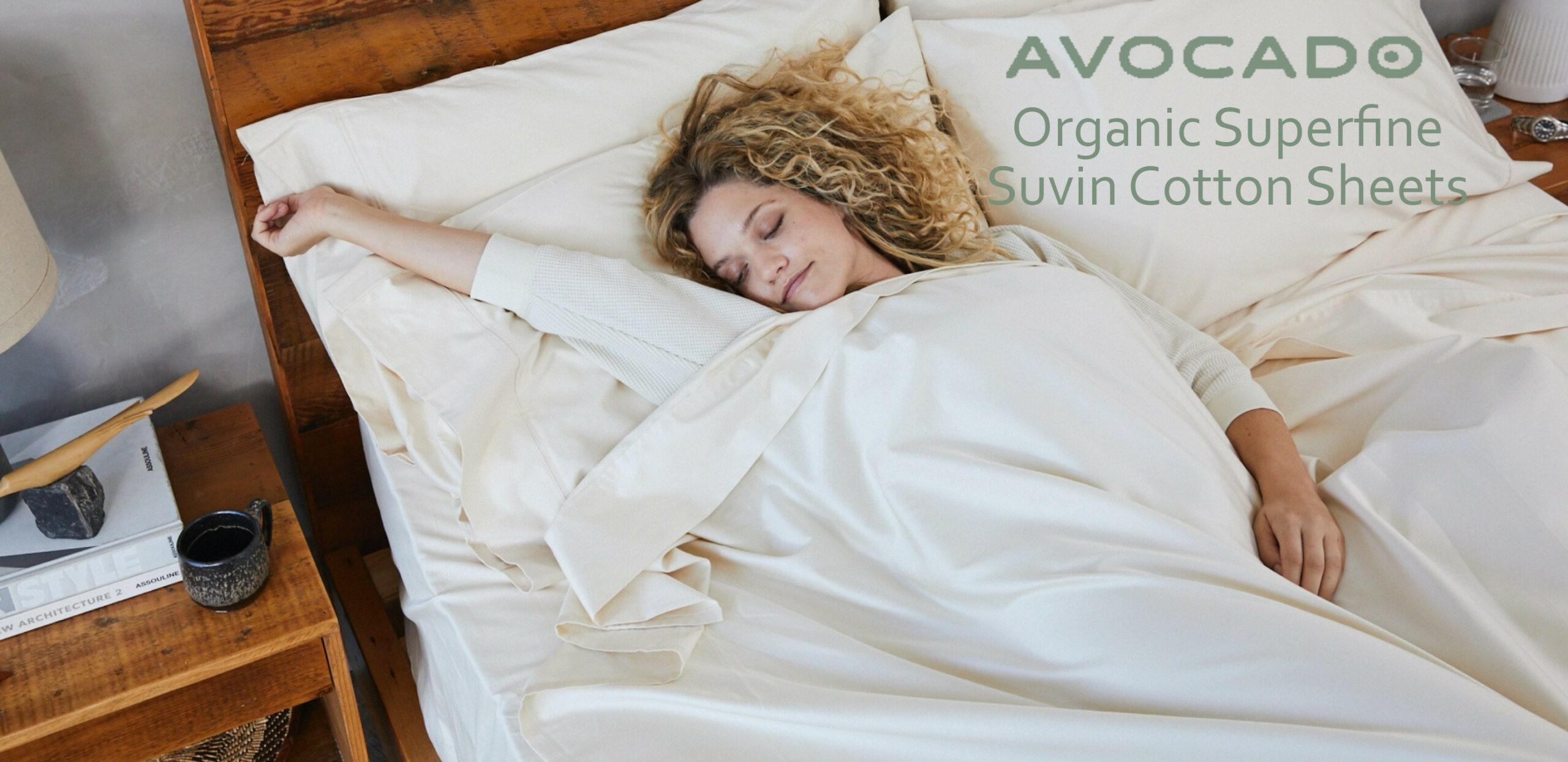 avocado organic superfine suvin cotton sheets
