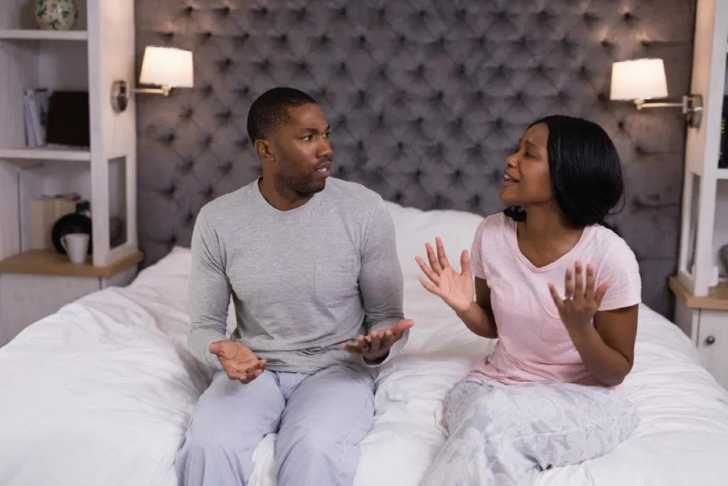 bringing up sensative subjects at night may ruin your relationship
