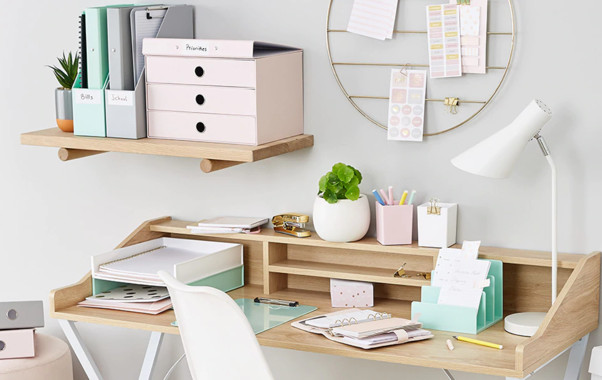 get your desk out of your bedroom