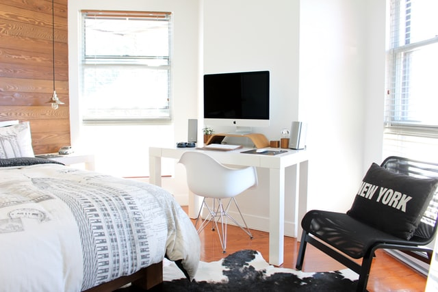 kick out your bedroom office