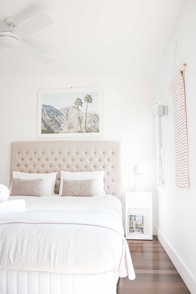 tips for making your bedroom feel tranquel