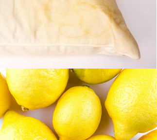 how to remove yellow stains from your pillows