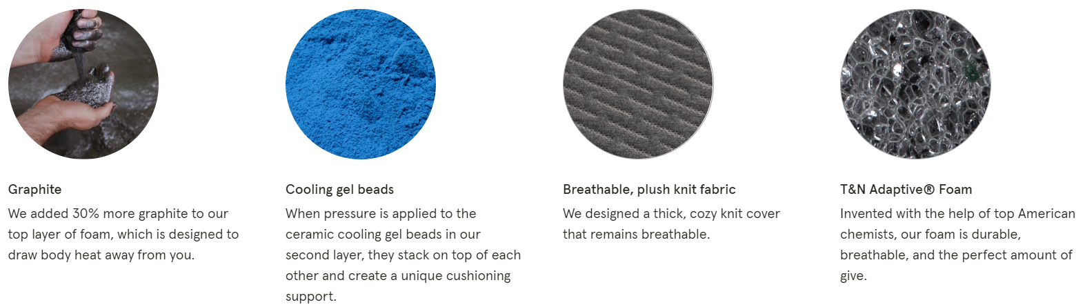 tuft and needle quality materials