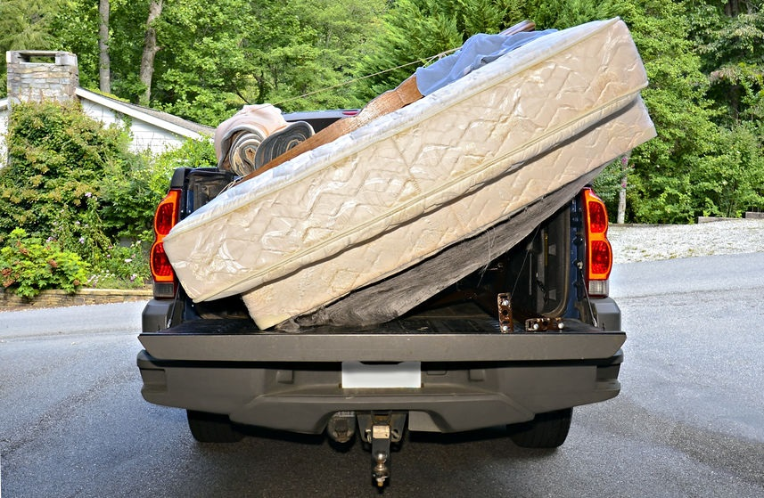 how to dispose of a mattress properly
