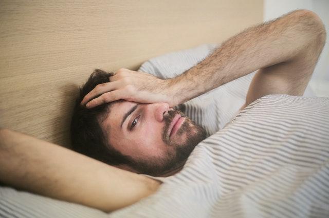 waking up uncomfortable