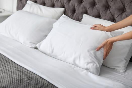 fluf your pillows
