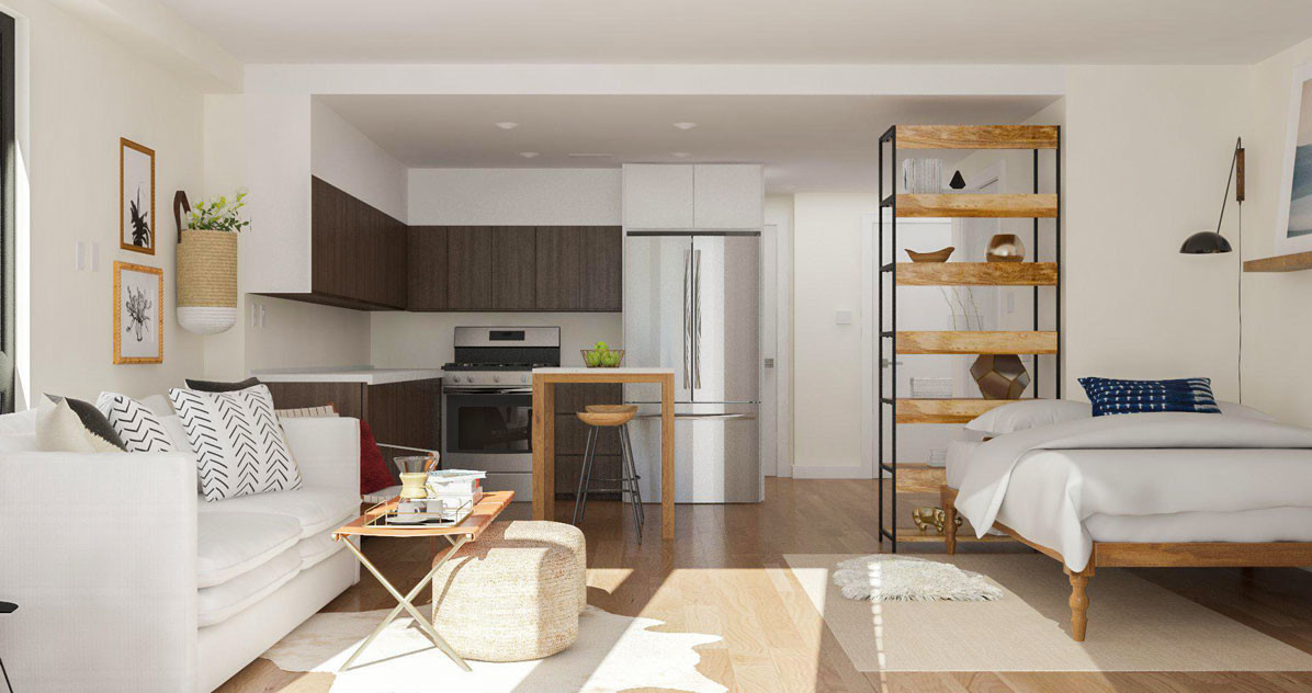 make your studio apartments useable