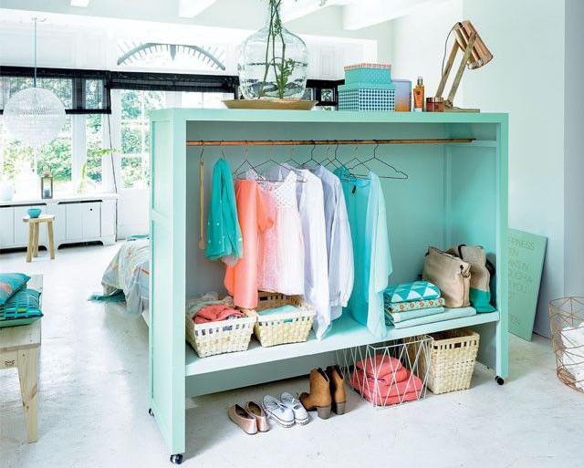 turn a wardrobe into a headboard