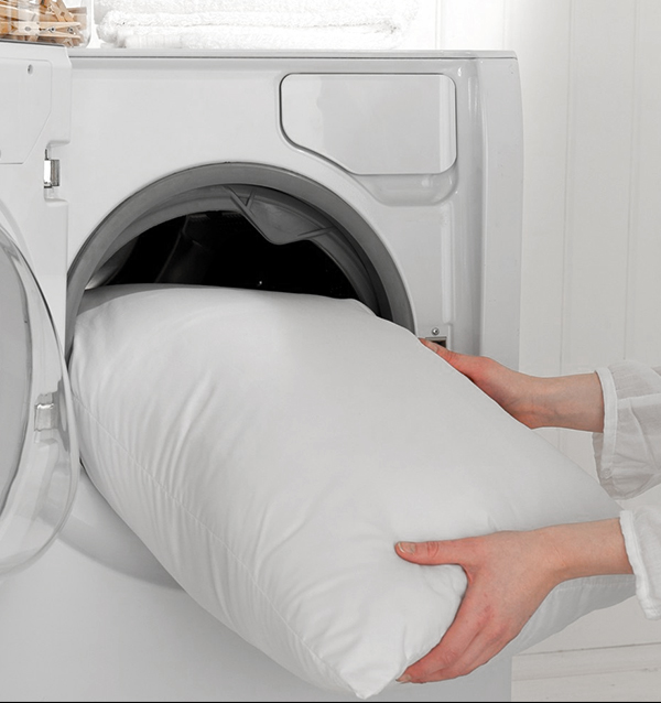 how to wash your pillows in the washer and dryer