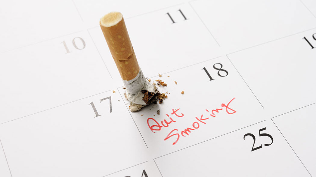 how to quit smoking and get to sleep