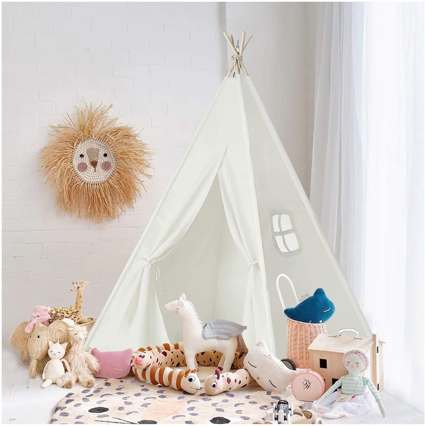 little girls room teepee