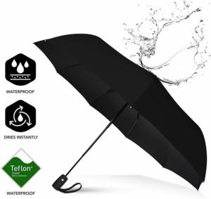 you will need a good umbrella