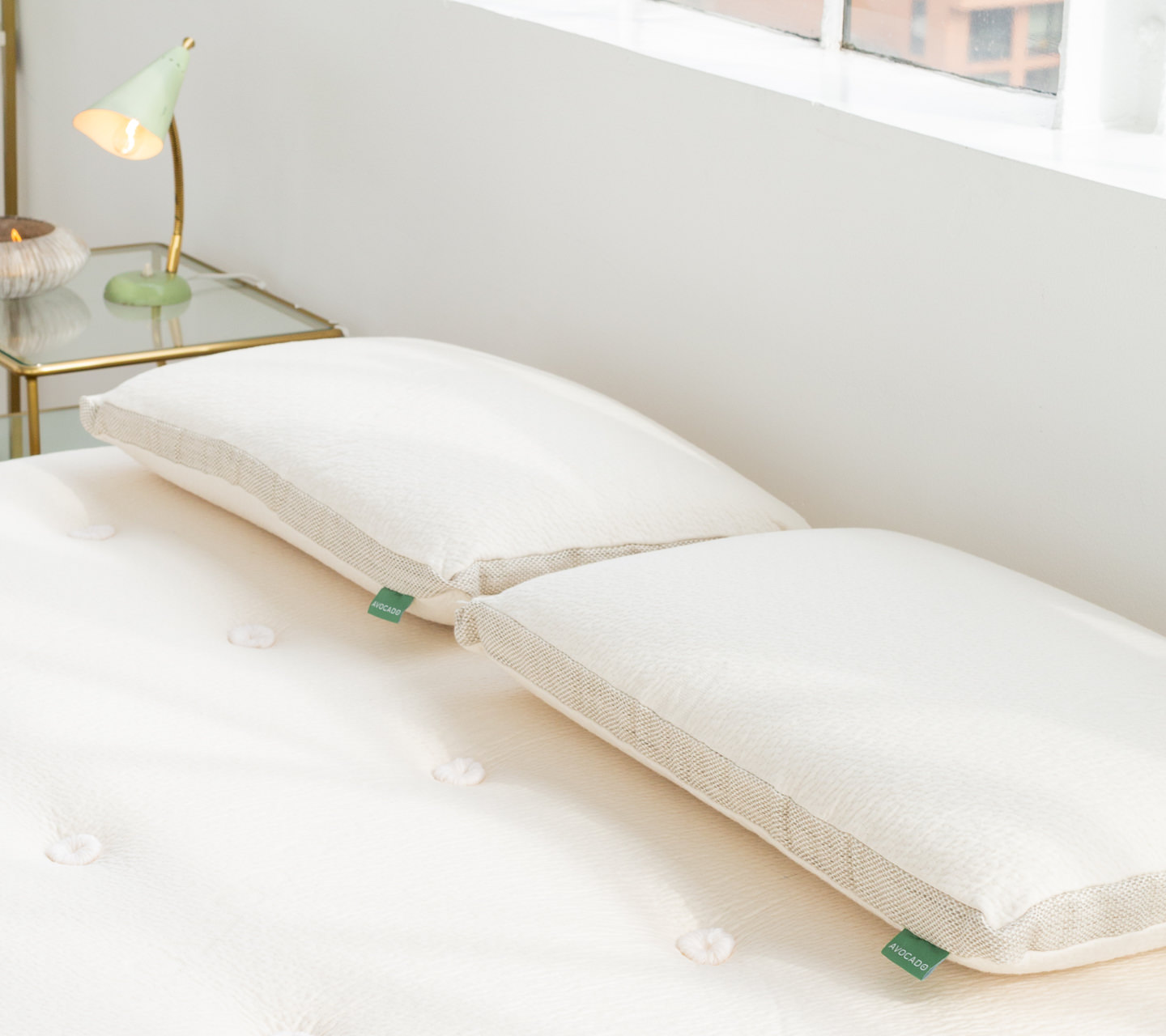 the new latex pillow for avocado