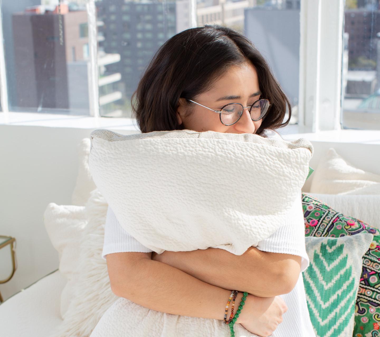 comfortable pillow from avocado