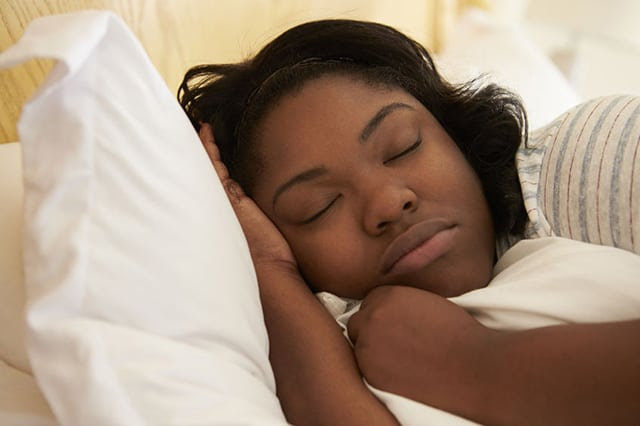 loose weight and get better sleep