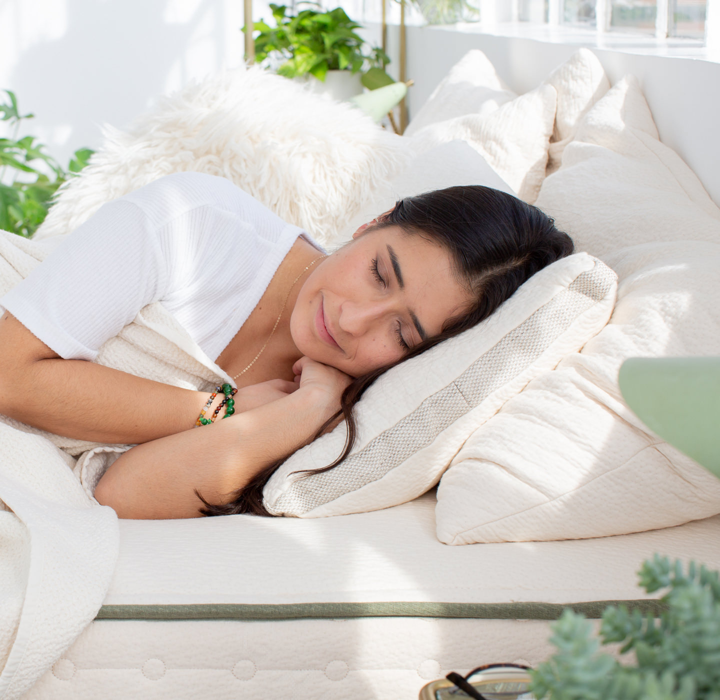 is the molded latex pillow comfortable?