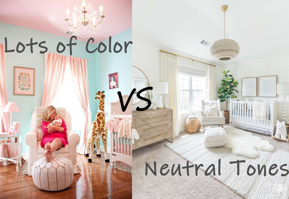 stick to neutral tones when you can especially for paint
