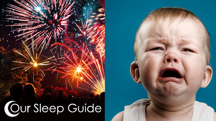 how do i get my kid to sleep through fireworks