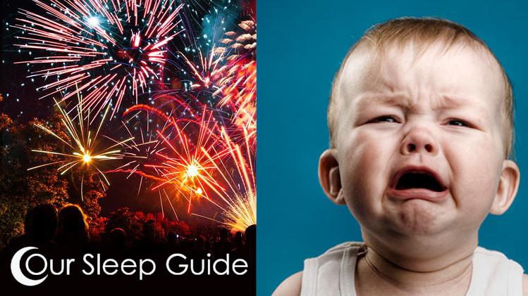 how do i get my kid to sleep through fireworks