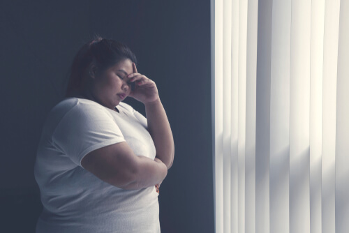 stress of obesity on the body and sleep