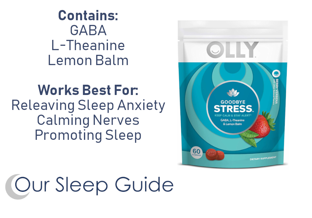 relieve stress to sleep better with vitamins