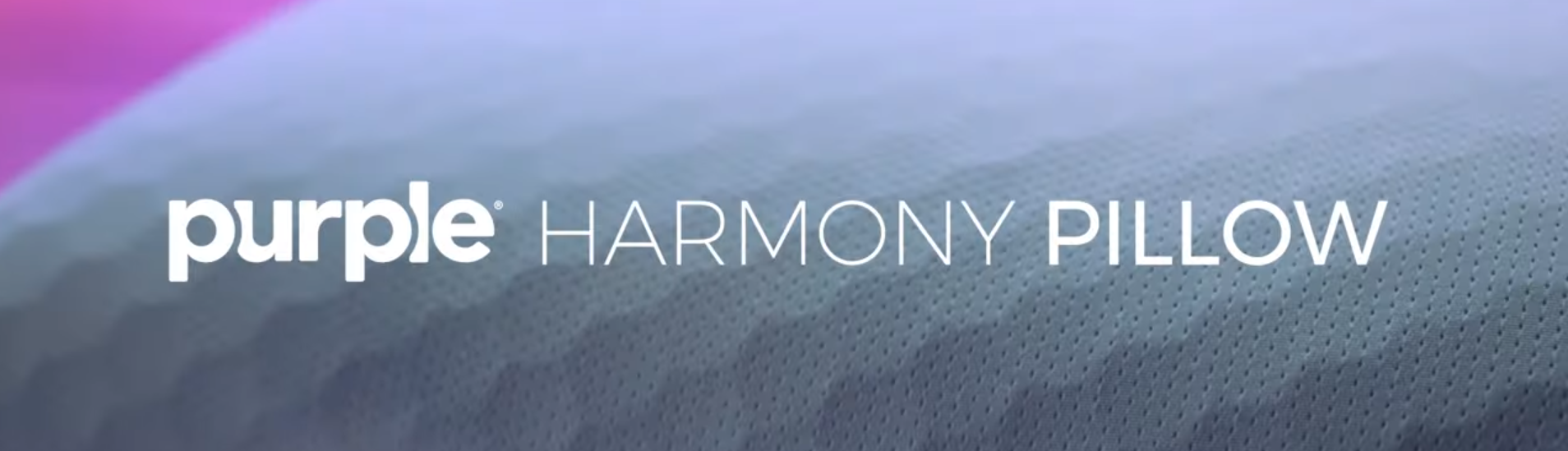 we tried the purple harmony pillow
