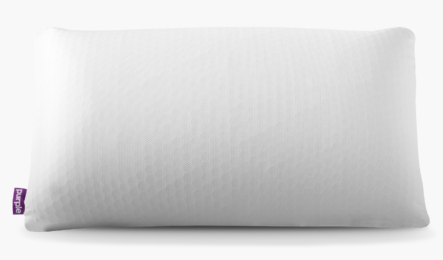 cozy pillow from purple