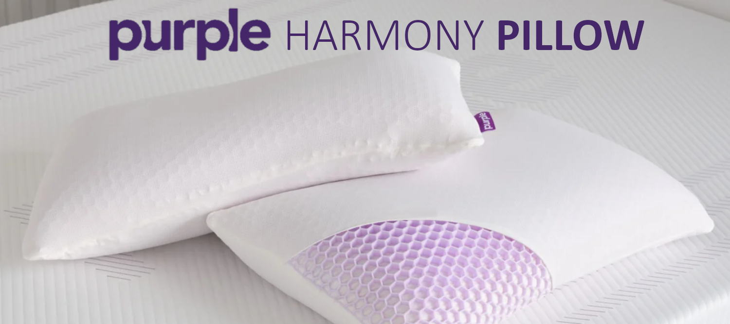 purple harmony pillow review by our sleep guide
