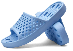 never forget your shower shoes