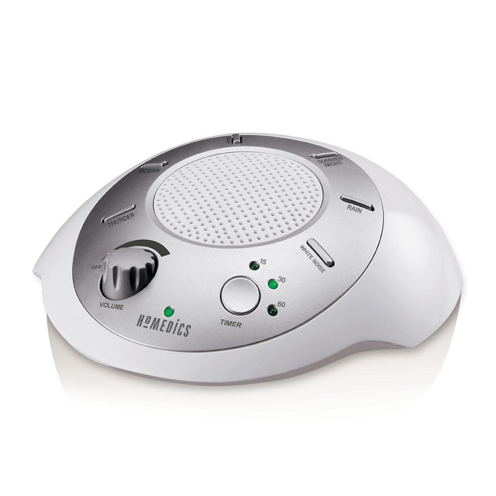 white noise machine can help sleep through fire works
