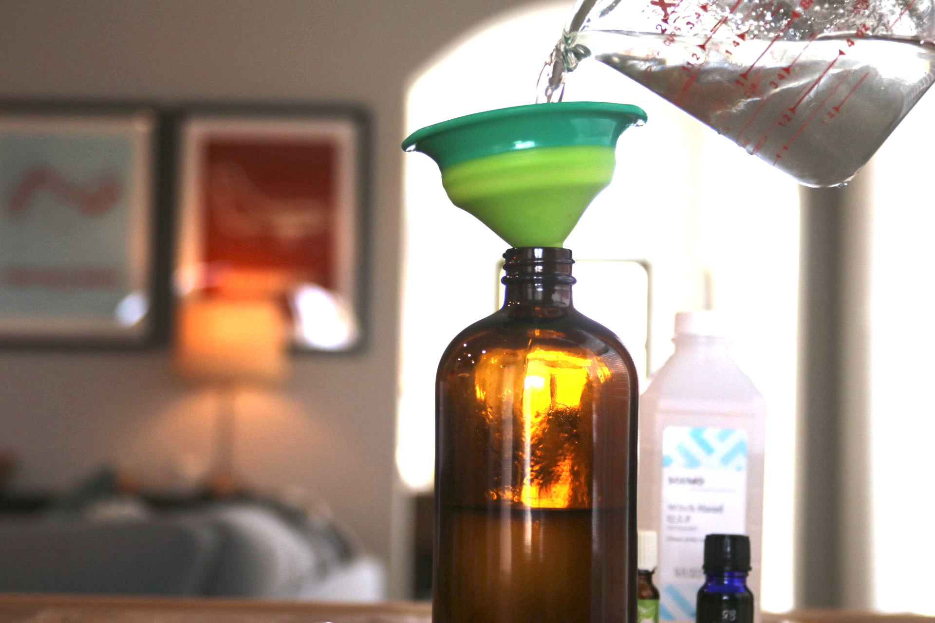 easy fun essential oil project