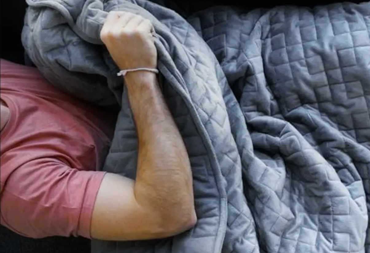 weighted blankets help your relax