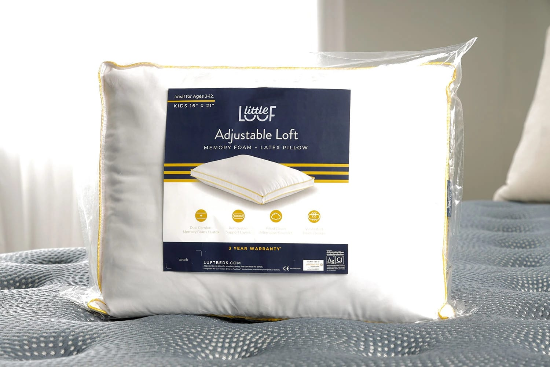 little luft adjustable pillow for kids