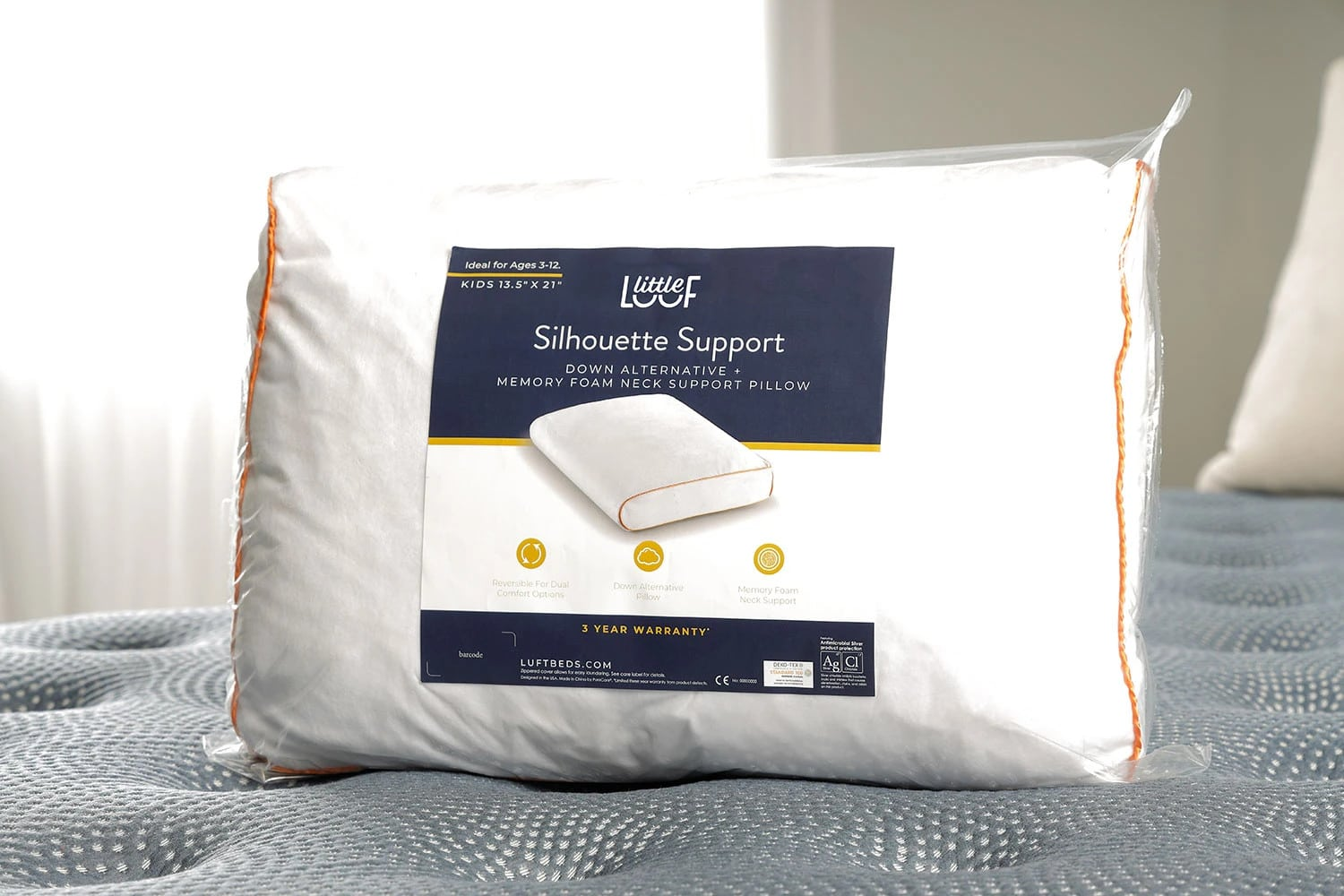 the little luuf silhouette kids pillow review