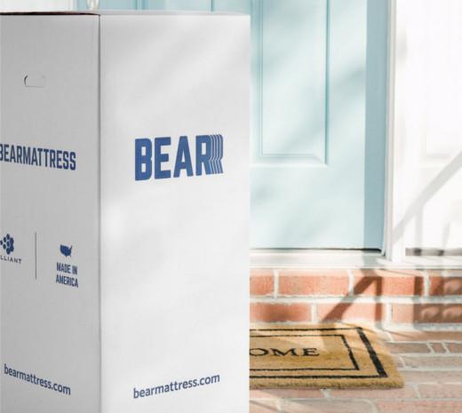 bear mattress box