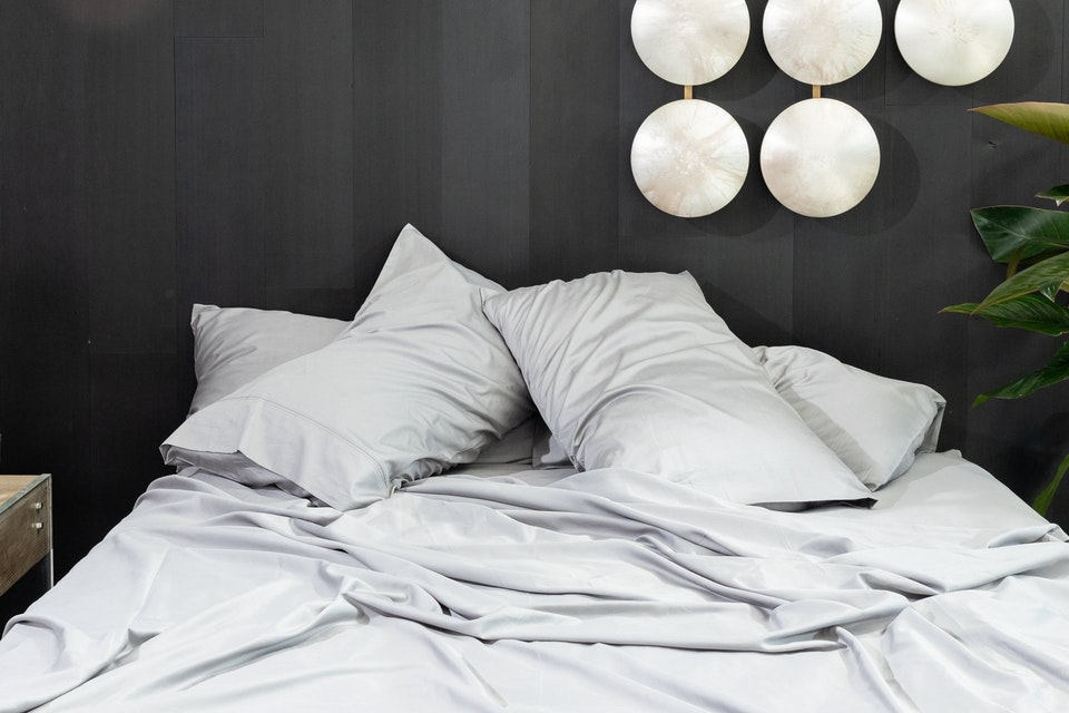 luxury cotton sheets by Brentwood Homes