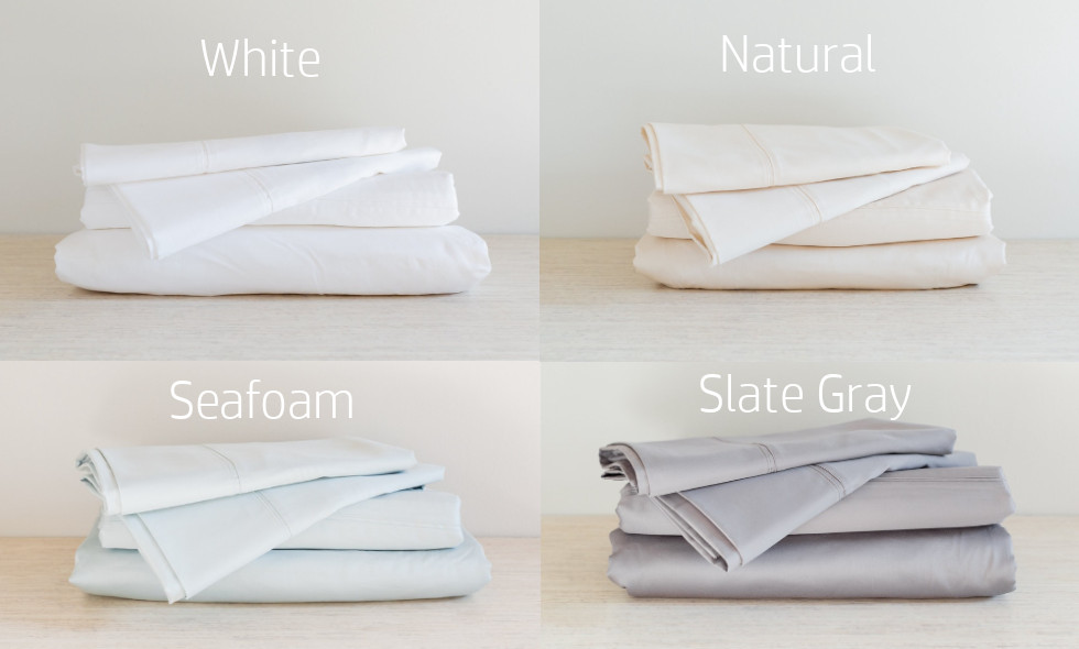 Color options for Brentwood Home Sheets