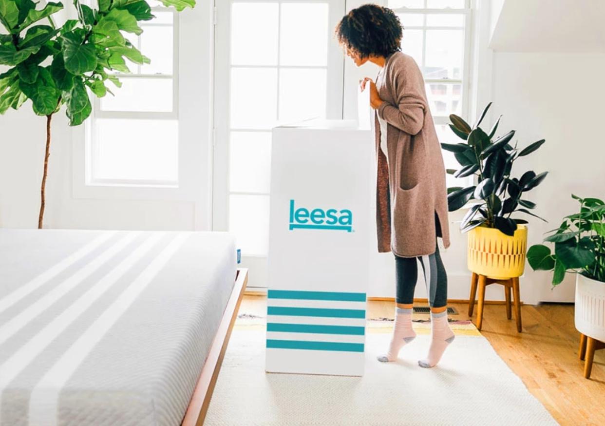 leesa mattress delivery