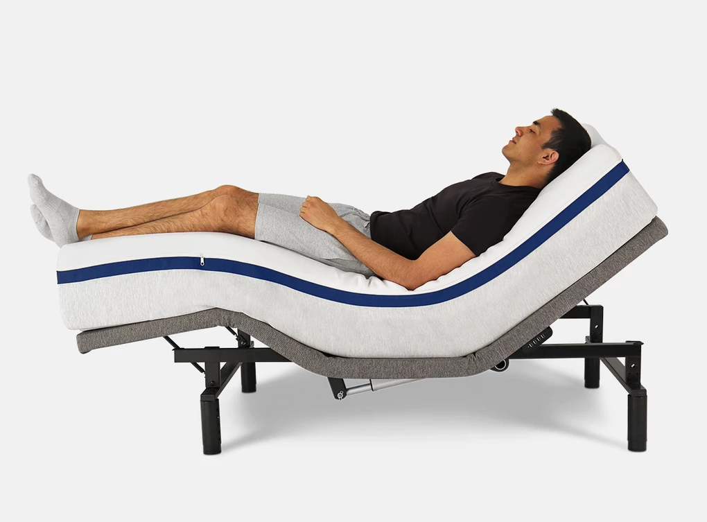 helix adjustable mattress base review