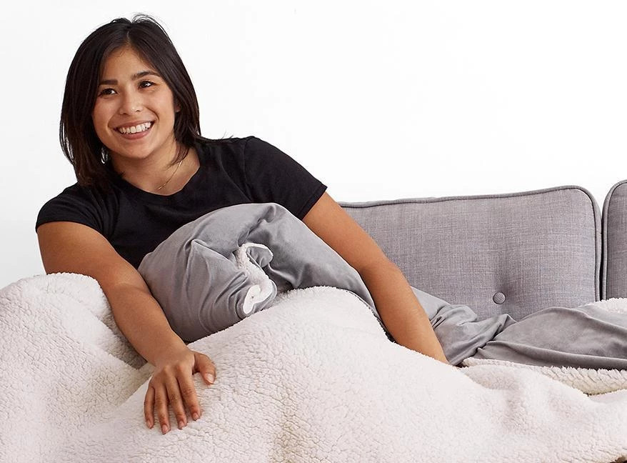 how comfortable is the weighted blanket by helix