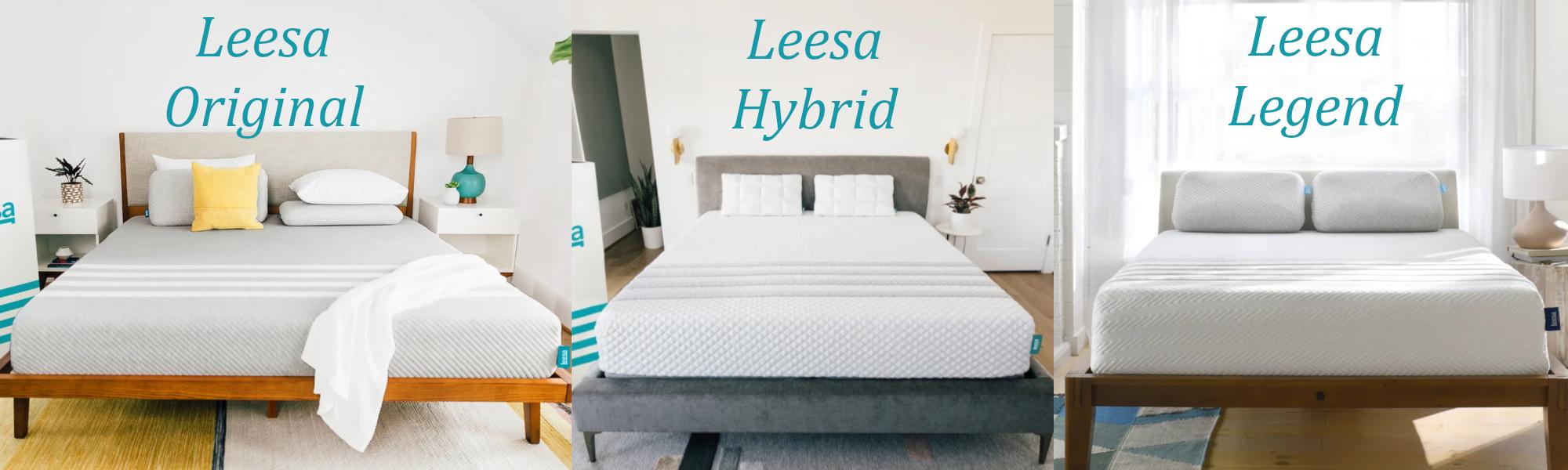 leesa brand mattresses comparison review