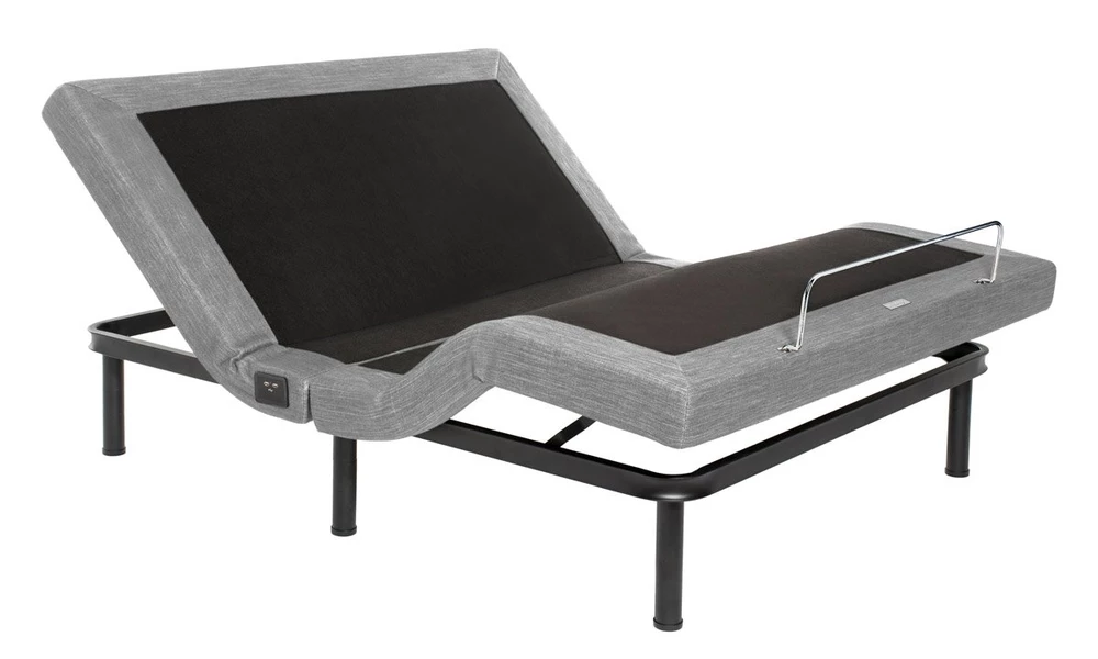 light gray color option for the puffy adjustable bed