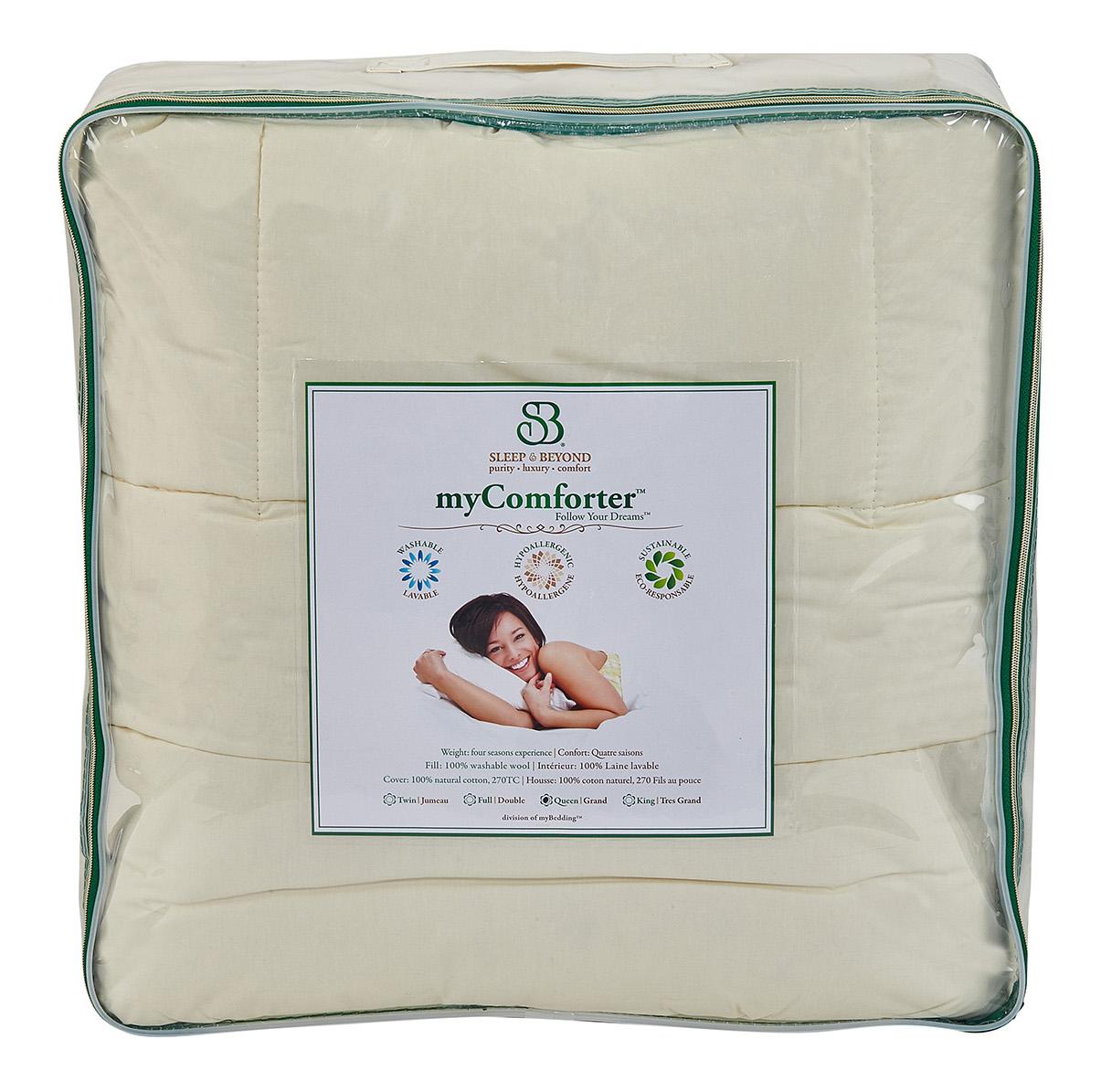 sleep & beyond wool my comforter