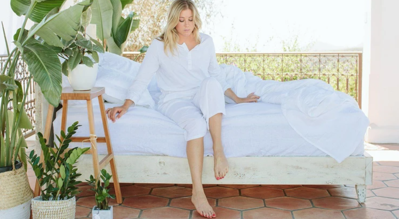 better sleep with organic cotton sheets