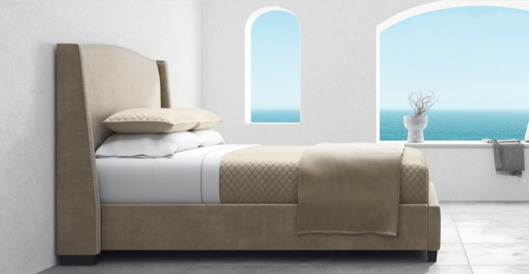 minori bed frame review from saatva