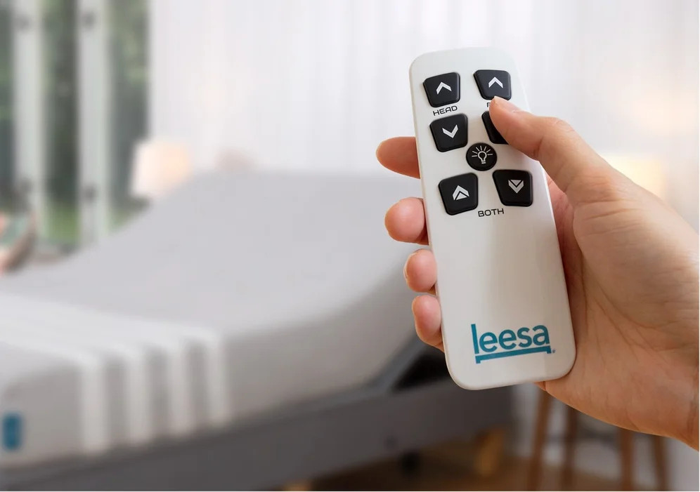 remote control for the leesa adjustable bed
