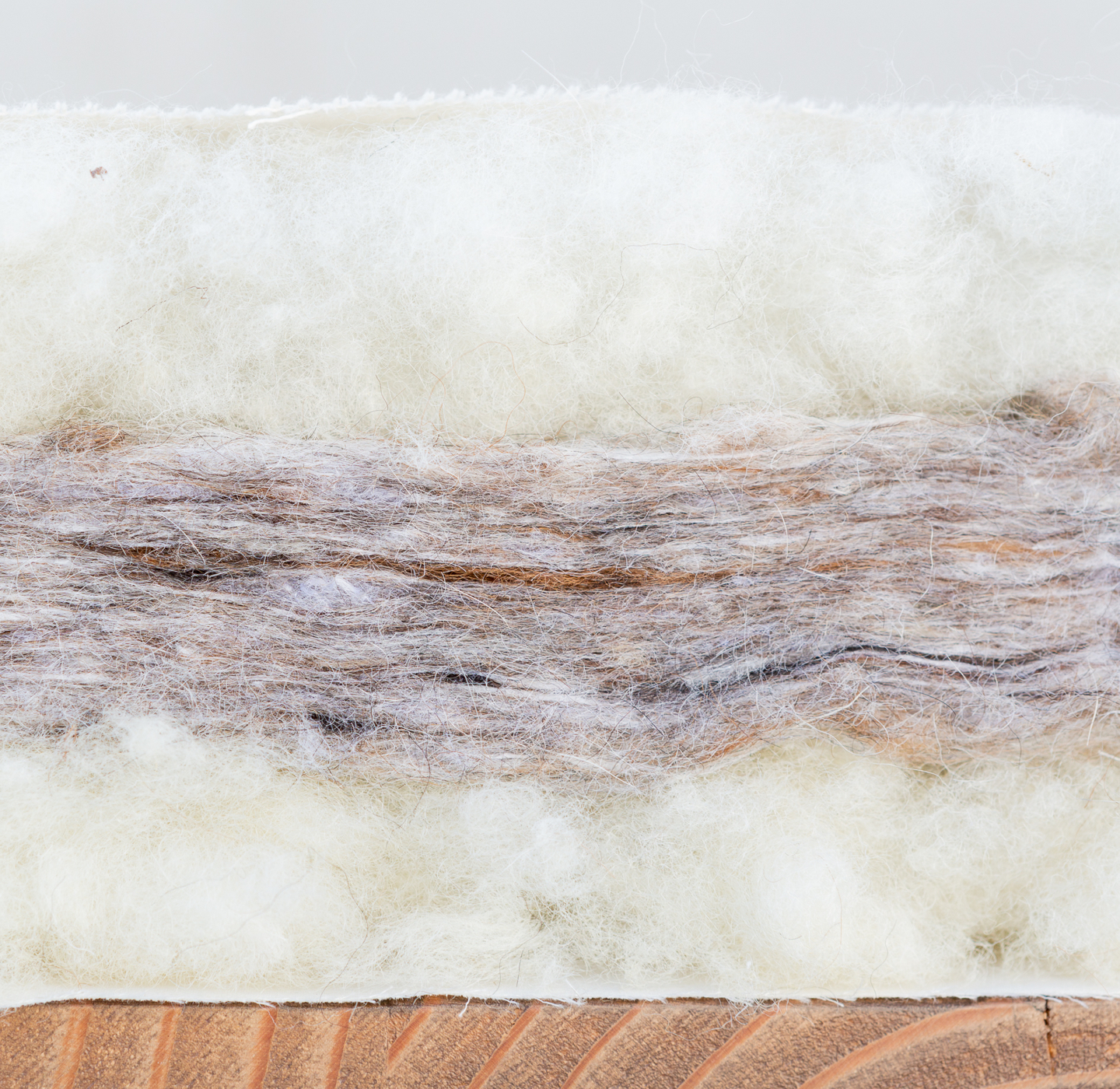 natural organic pillow toppper mattress