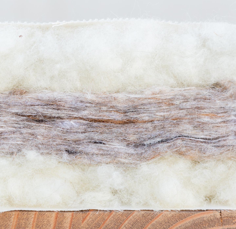natural organic pillow toppper mattress